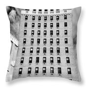 Saving Lincoln Hotel Lincoln Throw Pillow