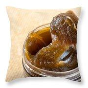 Savon Noir Black Soap Portion Throw Pillow