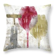 Savory Ruby Throw Pillow