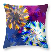 Saw Blade Throw Pillow by Atiketta Sangasaeng