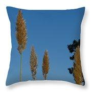 Sawgrass Blooms Throw Pillow