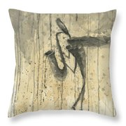 Saxophone A Series Of Works  Throw Pillow