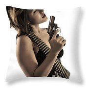 Say It One More Time Throw Pillow