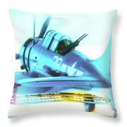 Sbd Dauntless Throw Pillow