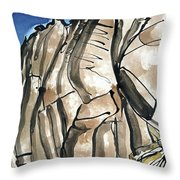 Scafell Crag 2  Throw Pillow