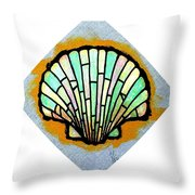 Scallop Shell Throw Pillow