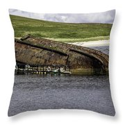 Scapa Flow Throw Pillow