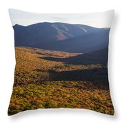 Scar Ridge Autumn Throw Pillow