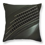 Scarab Lines Throw Pillow