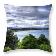 Scarborough Bay Throw Pillow