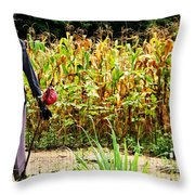 Scarecrow II Throw Pillow