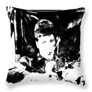 Scarface Reflects Throw Pillow