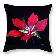 Scarlet Throw Pillow