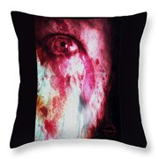 Scarlet Vision Throw Pillow