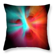 Scary Throw Pillow