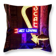Scatt Jazz Lounge 030318 Throw Pillow