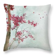 Scattered To The Four Winds Throw Pillow