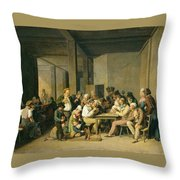 Scene De Cabaret Throw Pillow