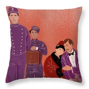 Scene From Grand Budapest Hotel Throw Pillow