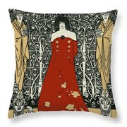 Scene From Tannhauser By Richard Wagner Throw Pillow