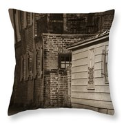 Scene From Yesteryear #1 Throw Pillow