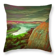 Scene In Ambiance Throw Pillow