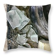 Scene In St. Augustine  Throw Pillow