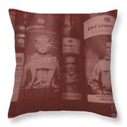 Scene O Noir Throw Pillow