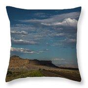 Scenic Highways Of Arizona Throw Pillow