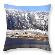 Scenic Oyama Throw Pillow