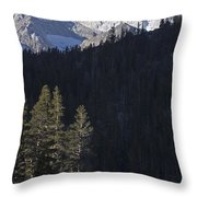Scenic View Of Mount Abbot 13701 Ft Throw Pillow