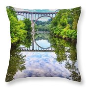 Scenic View Throw Pillow