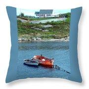 Scenic Village Throw Pillow