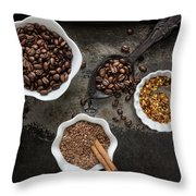 Scent Of A Kitchen Throw Pillow