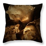 Scent Of A Memory Throw Pillow by Bonnie Bruno