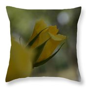 Scent Of A Rose Throw Pillow