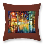 Scent Of Rain Throw Pillow