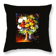 Scent Of The Night Throw Pillow