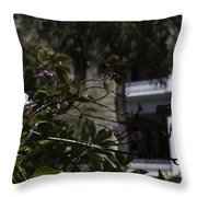 Scents Of The South Throw Pillow