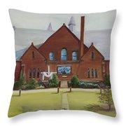 Schaeffer Center  Ally View Frederick Md Throw Pillow