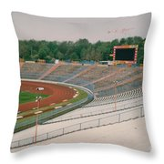 Schalke 04 - Parkstadion - North Goal Stand 1 - April 1997 Throw Pillow