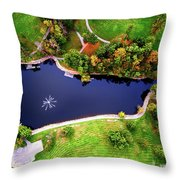 Schenk Lake Throw Pillow