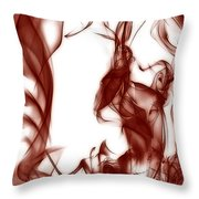 Schizophrenia Throw Pillow