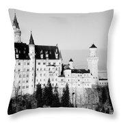 Schloss Neuschwanstein  Throw Pillow