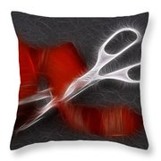 Schnipp Snatsching Throw Pillow