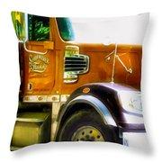 Schoenecker Trucking Throw Pillow