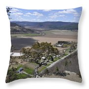 Schoharie Valley Throw Pillow
