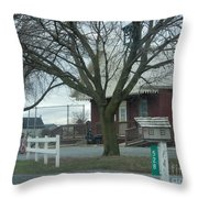 Scholars In The Schoolhouse Throw Pillow