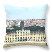Schonbruun Castle Throw Pillow