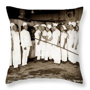 School For Bakers Presidio Of Monterey October 1915 Throw Pillow